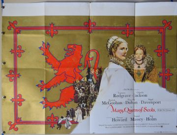 Mary Queen of Scots (1971) Film Poster - UK Quad
